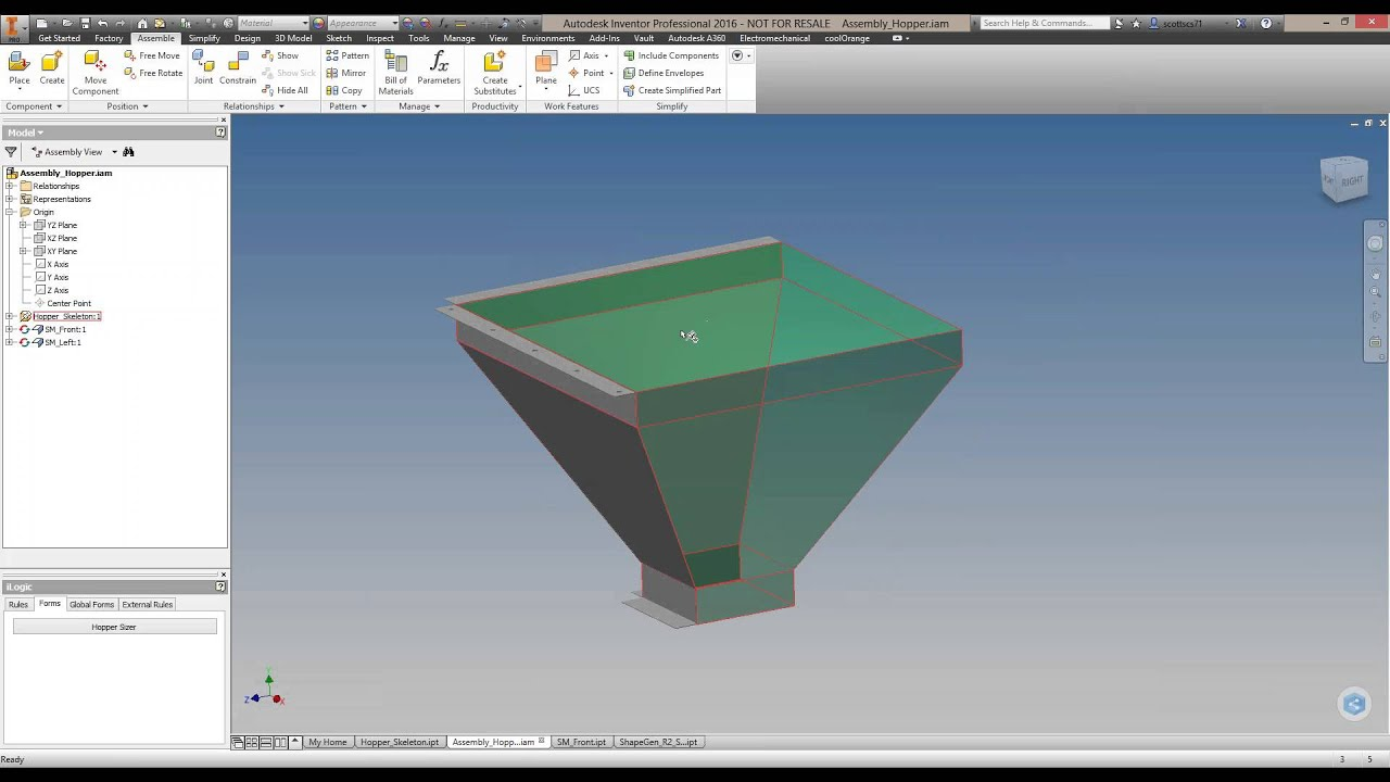 how to use a3 in inventor