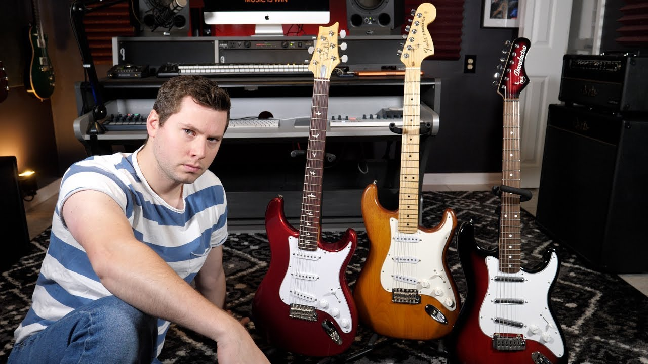 The Stratocaster Shootout Game Youtube