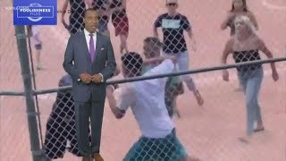 Foolishness files: Tempers flare at elementary school baseball game