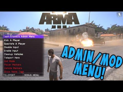 ARMA 3 [TUTORIAL] - ADMIN - MOD - MENU (God Mode, Teleport & More):