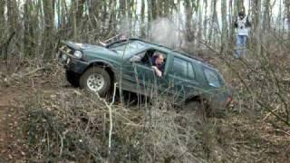 4x4 Opel Frontera - trial p'tit accident de parcours! N°2- servaville4x4 - 22.02.09