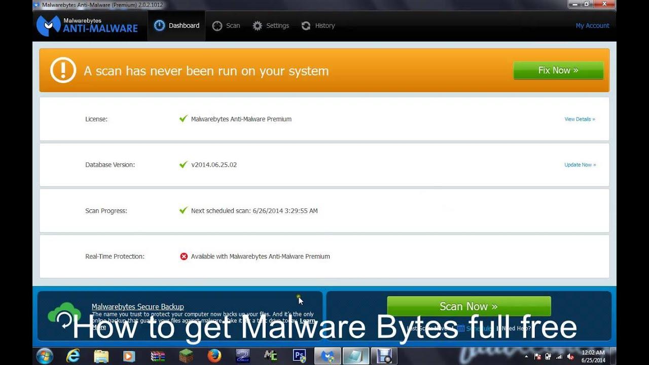 malwarebytes free version vs full version