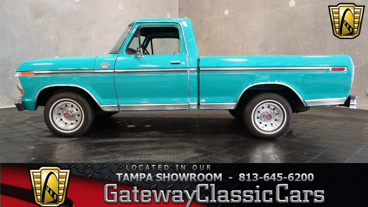 1979 ford f100 ranger youtube publicscrutiny Gallery