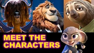 Zootopia 2016 - Meet the Cast - Beyond The Trailer