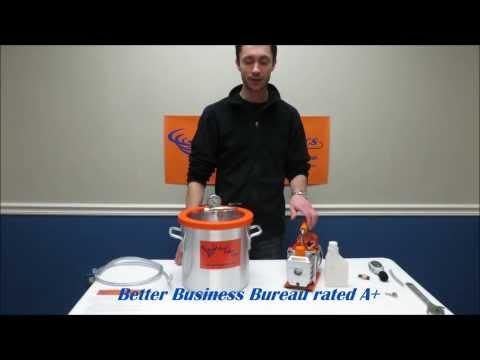 Best Value Vacs 3 Gallon Vacuum Chamber Kit