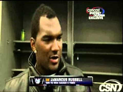 Jamarcus Russell Week 15 Interview