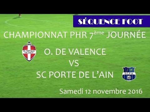 Séquence foot OV Porte de l'Ain du 12 11 2016