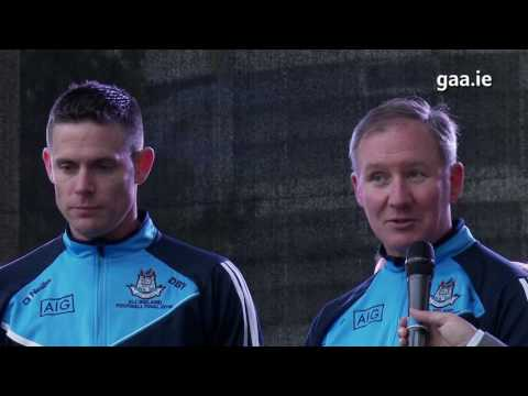 Dubs' Delight: All-Ireland Champions Dublin celebrate at Smithfield
