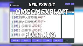 [NEW] Roblox Exploit | OmggmExploit Full Lua / LuaC | All Games Hack's of Roblox [FREE]