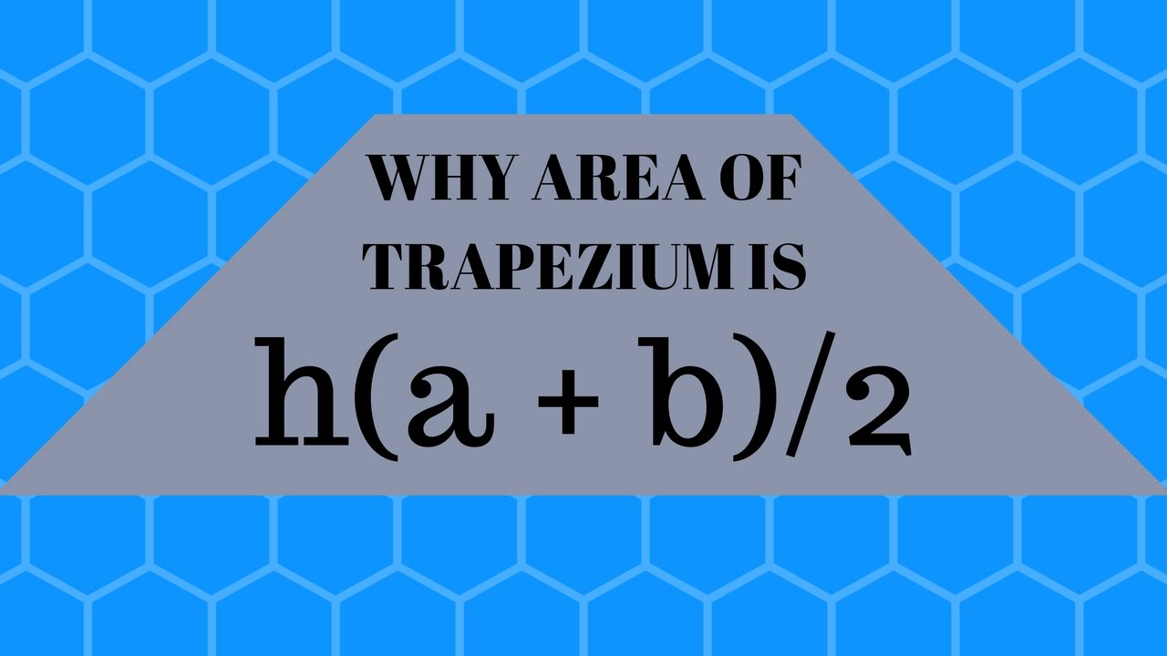 Regular Polygon Example 2 Why Area Of Trapezium Is Half The Product Of Its  Height And Sum Of Parallel Sides