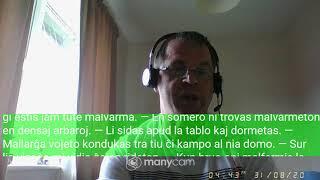 Fundamento De Esperanto Ekzerco 38   Tuj post   jo
