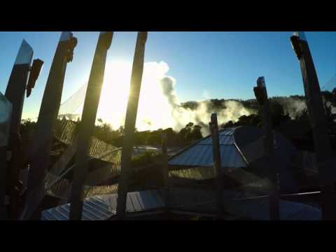 Tomokanga Matua, Te Heketanga a Rangi. Te Puia, Rotorua's Centre for Geothermal and Cultural Wonder