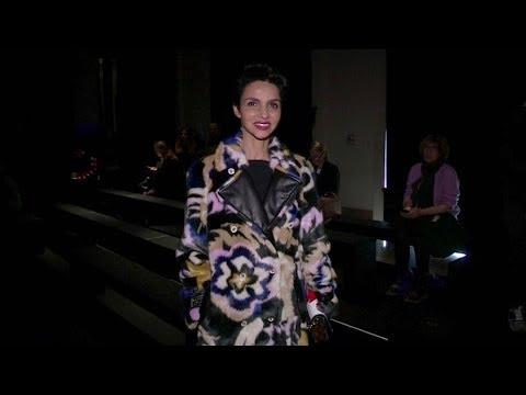 Farida Khelfa, Caroline de Maigret and more Front Row for the Haider Ackermann Fashion Show in Paris