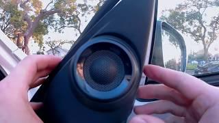 2019 Honda Civic Hatchback SPORT Front Door Speaker + Tweeter Full install