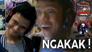 DIRIKU MASUK ANIME CRACK INDONESIA ?!? - AYO TAHAN TAWA #4