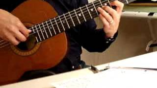 Bùi Giáng: Giã Từ Đà Lạt. Nhạc: Hào Quốc. Guitare Trémolo
