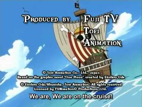 One Piece Op 1 - We Are! (FUNimation Dubbed)