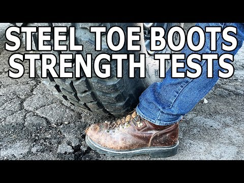 Steel Toe Boots vs. Car - Random Machine Shop Experiments