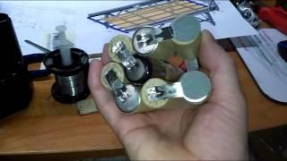 видео Аккумулятор шуруповёрта Hitachi