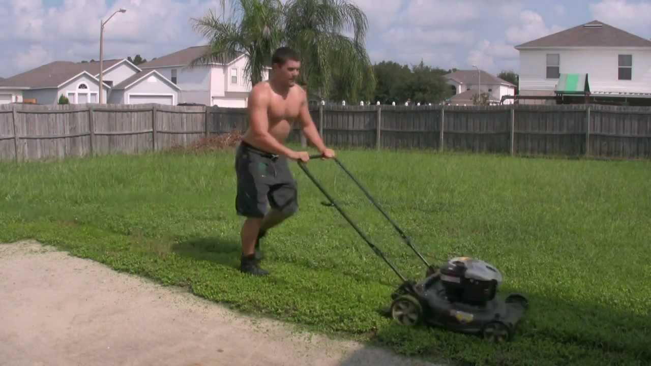 Cut Your Grass How To Cut The Grass Youtube