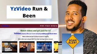 $10 Watching Videos   Scam or Legit   YzVideo Review