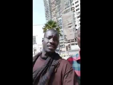 Abdou Karim Gueye et le mouvement Nittu Dëgg arrêtés par la police à la place de l'indépendance
