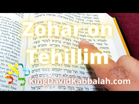 Commentary on Tehillim - PSalm, according to the Zohar  5-8