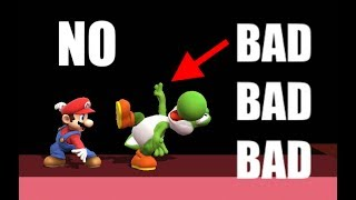 STOP USING YOSHI'S GRAB RELEASE | Super Smash Bros. for Wii U
