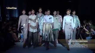 Показ   YULIYA POLISHCHUK, Ukrainian Fashion Week, Осень Зима 2016 17