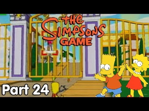 Let's Play The Simpsons Game - #24. The Pearly Gates of Video Game Heaven!