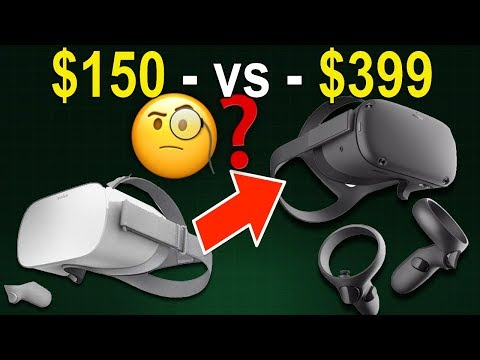 $150 - Vs - $399 VR - Oculus GO Or Oculus QUEST ?