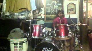Desiree Jones Freestyling (Girl Drummer)