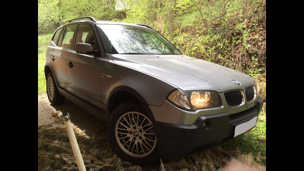 BMW X3 2.0d E83 - YouTube