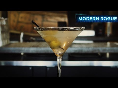 Making an Award-Winning Martini (Shaken is a lie!)