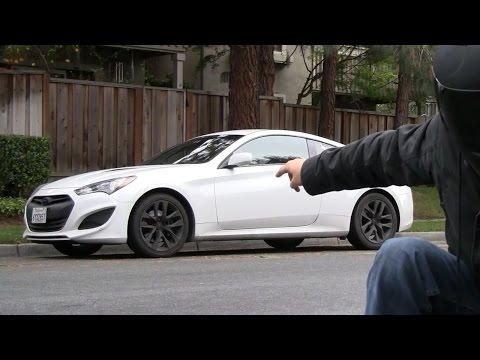 POV Canyon Drive 2016 Hyundai Genesis Coupe 3.8 R Spec 2013 2.0T some drifting
