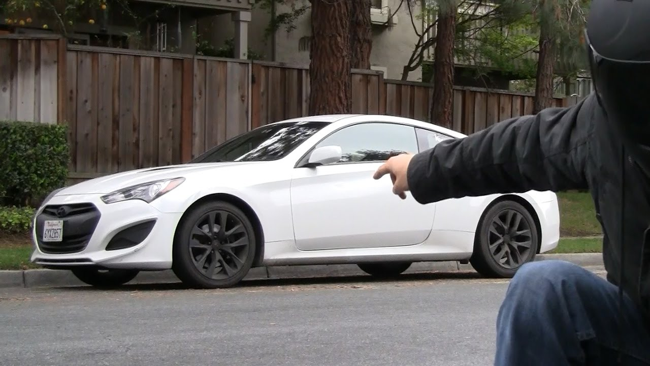 small resolution of  pov canyon drive 2016 hyundai genesis coupe 3 8 r spec 2013 2 0t some drifting youtube