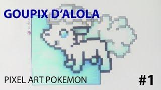 Pixel Art POKEMON #1 Goupix D