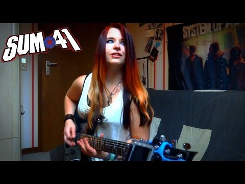 SUM 41 - Fake My Own Death [GUITAR COVER]   Jassy J