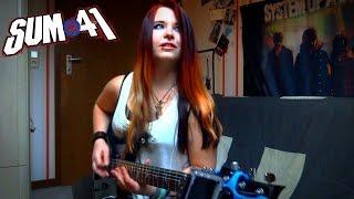 sum 41 fake my own death guitar cover jassy j