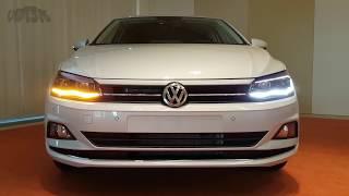 VW Polo NEU 2017 Interieur Exterieur 2018 Volkswagen LED POV no GTI Review #2