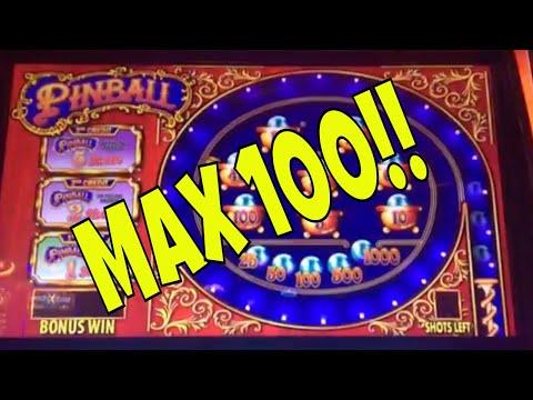 MAX 100! 100 SPINS AT MAX BET ON FREEPLAY ✧ WHAT'S MY PAYBACK% ✧ PINBALL AT THE M RESORT