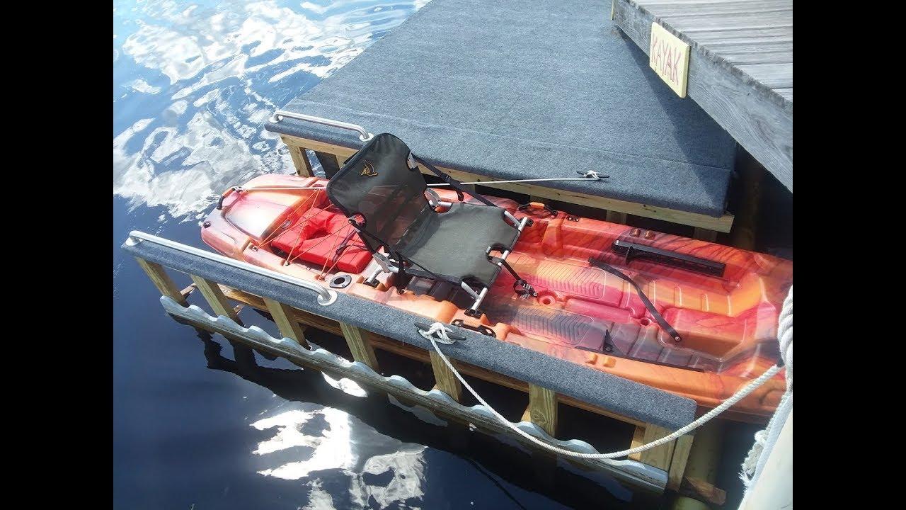 DIY Kayak Launch