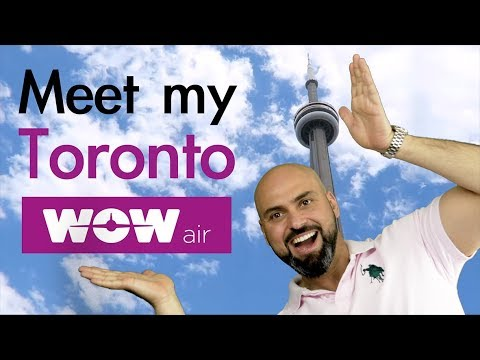 WOW Air Travel Guide Application | TORONTO