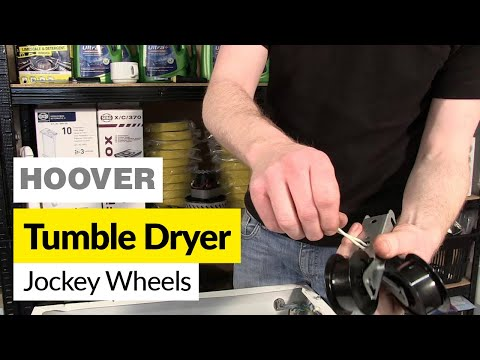 Hotpoint TDC62N Tumble Dryer Jockey Pulley Wheel and Arm Assembly