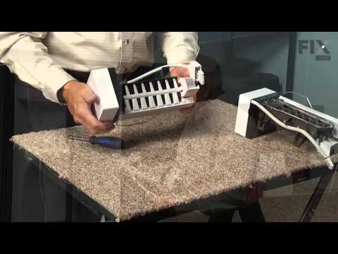 Frigidaire Refrigerator Repair – How to replace the Ice Maker with Cover