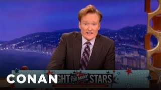 "UPDATE: Conan Ups The Ante For ""Night of Too Many Stars"" - CONAN on TBS"