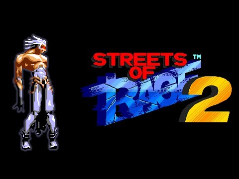 Streets Of Rage 2: [Huoji] Magaki (King Of Fighters) hack (Sega Mega Drive/Genesis)