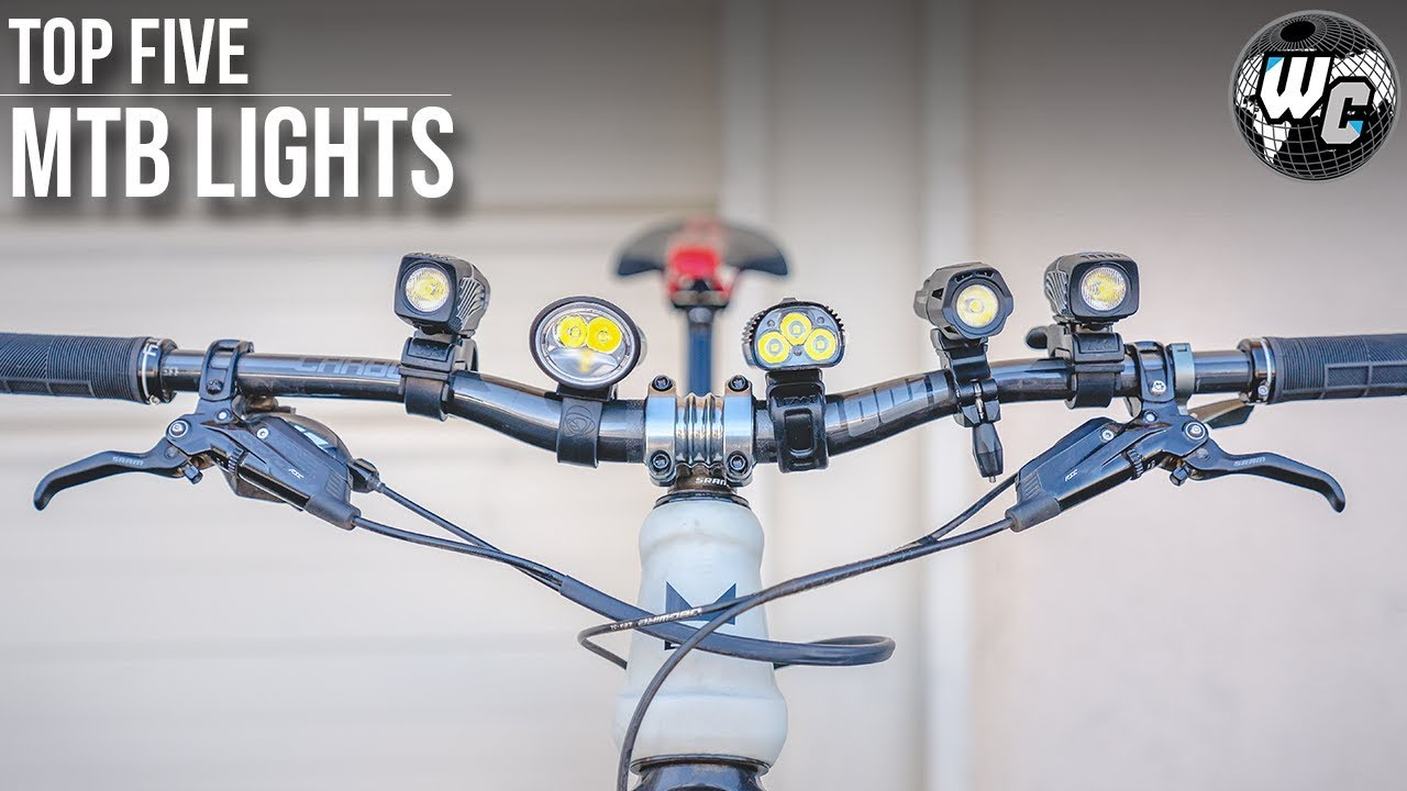 Top 5 Mtb Night Riding Lights It S Not Always About The Lumens
