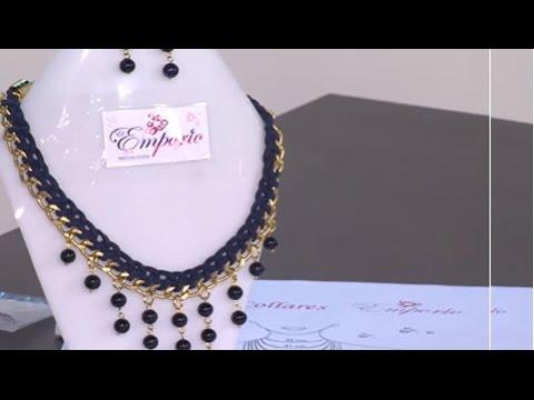 114148f590b5 Como hacer un collar tejido con perlas - Hogar Tv por Juan Gonzalo Angel -  YouTube