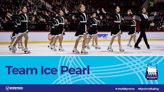 Team Ice Pearl (CHN)   Helsinki 2019   #WorldSynchro